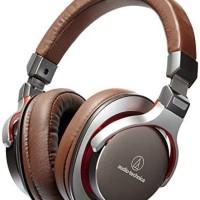 Audio technica portable headphone HIFI female voice bass ATH-MSR7-GM
