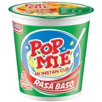 Popmie rasa Baso mi instan Cup (1 karton isi 24 cup)