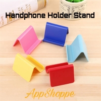Handphone Smartphone Holder Stand Plastic Desktop Docking RANDOM Color