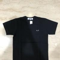 CDG Play Logo T-shirt (black/black)
