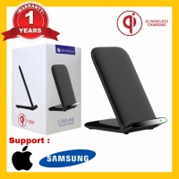 Wireless Charger Standing Support Samsung dan Iphone Garansi 1 Tahun