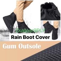 RAIN BOOT COVER 8in Jas Hujan Sepatu Waterproof PVC 401