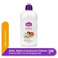 Sleek Bottle Nipple and Accessories Cleanser Pencuci Botol Bayi 500ml