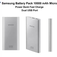 POWERBANK POWER BANK SAMSUNG ORIGINAL 2 USB 10000 MAH