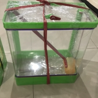 AQUARIUM BOX ES TEBU / JERUK / KELAPA JAMAN DULU (BESAR) via GO/GRAB