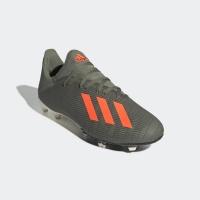 Sepatu bola adidas original X 19.3 FG Green army orange new 2019