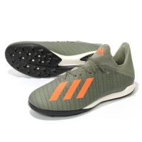 Sepatu futsal Adidas X19.3 TF Green army orange Original turf new 2019