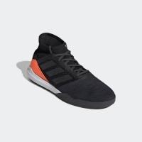 Sepatu futsal adidas original Predator 19.3 TR Black orange 2019