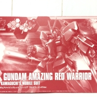 HGBF Amazing red warrior gundam RX 78 Char P bandai expo non MG RG