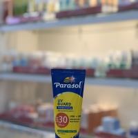 Parasol uv guard mosturising spf 30 sunscreen lotion 100ml