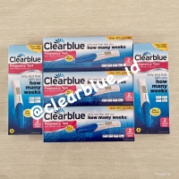 Clearblue Test Pack Digital Original (tes / uji kehamilan Clear Blue)