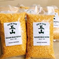 Kacang Hijau Kupas - Kualitas Super - packing 1 kg