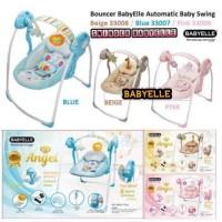 Baby Elle swinger Automatic Swing Ayunan elektrik Bayi Pink Biru Cream