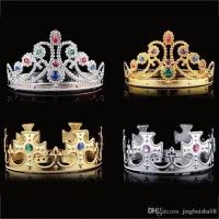 Mahkota / Tiara / Crown / Bando Gold Silver (Princess / Prince)