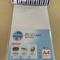 Kertas PVC ID CARD Untuk bahan ID CARD A4 isi 5 set