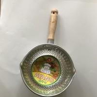 Panci susu aluminium Ayano totol uk. 1,0 x 16cm