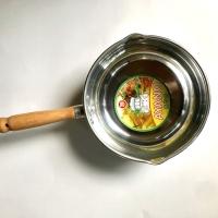 Panci susu aluminium Ayano polos uk 0,6 x 20 cm