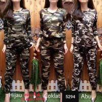 Eastern Army Loreng Setelan Baju Celana Wanita - 5294