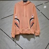 Bape Shark 2 Face Pink Hoodie