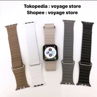 Strap Apple Watch Leather Magnetic Loop Iwatch 42mm 38mm IWO 1 2 3 4 5