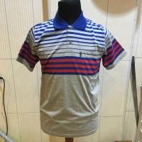 Wangki Salur Pria| Wangki Salur Dewasa| Polo Shirt Bahan Kaos Size M