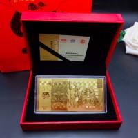CNY Chinese New Year Angpau Angpao Gift Emas 24K / Hadiah Kekinian