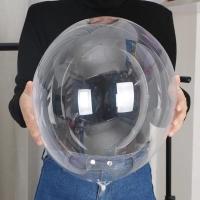 Balon pvc 18 inch - balon bobo - balon transparan - balon bening