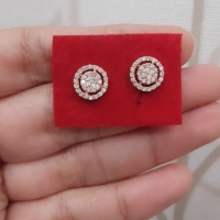 Berlian Medan Asli✨ Krabu/ Anting Roda 1.6gr