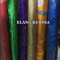 Kain Bahan Satin / Saten polos merk Monalisa