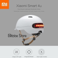 Xiaomi Smart Helmet Smart4u Backlight Waterproof Helm Scooter Sepeda