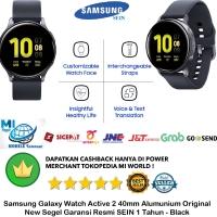 Samsung Galaxy Watch Active 2 40mm aktif 2 40 mm Alumunium Resmi-Black