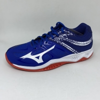 Sepatu volley mizuno original Thunderblade LOW snorkle blue white 2020