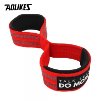 7640 AOLIKES WRIST STRAP POWER LIFTING SUPPORT BAND TALI FITNESS GYM