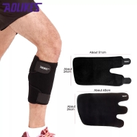 7966 AOLIKES CALF WRAP SUPPORT GUARD PROTECTOR KNEE SLEEVE WRAP PAD
