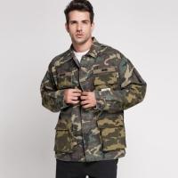Jaket BAPE X WTAPS Jungle L/S Army zipper original not off white zara