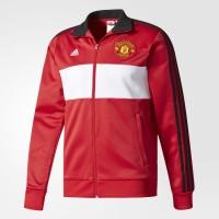 Adidas Manchester United 3-Stripes Track Jacket Red White Original