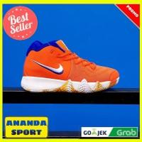 SEPATU BASKET MURAH NIKE BASKET PRIA KYRIE IRVING 4  orange