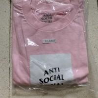 Assc (anti social social club) 100% original t shirt pink color