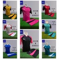 Baju Futsal Kaos Futsal Setelan Futsal Jersey Nike Puma Toska Hitam