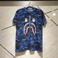 Kaos bape shark blue army
