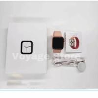 Smartwatch iwo 12 40mm original mirip apple watch iwatch 5 GPS NEW - Putih, 40mm