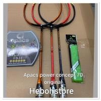 Raket Badminton APACS NEW POWER CONCEPT 70 ORIGINAL MAX 35 LBS