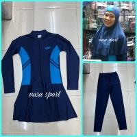 Baju renang new dewasa muslim syari/renang hijab syari dewasa speedo