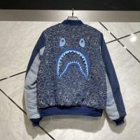 Bape Shark Blue Jaket Bomber