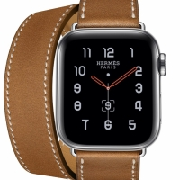 Apple Watch Hermes 40mm Double Tour Brown Strap