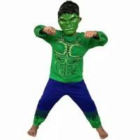 Baju Kostum anak Hulk size 4-8(2-4thn)