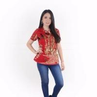 Wina Cheongsam Top Blouse Baju Wanita Imlek Chinese New Year 5620 CTW