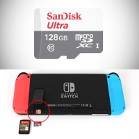 Sandisk Ultra Micro SD 128 GB 100Mbps ORIGINAL for Nintendo Switch