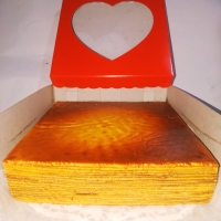 Kue Lapis Legit Loyang 22x22, tinggi 5cm (HOMEMADE)